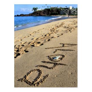 Postal de Kaanapali de la hawaiana