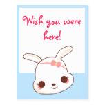 Postal de Kawaii Pinkee