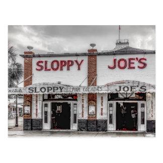 Postal de Key West de Joe descuidado