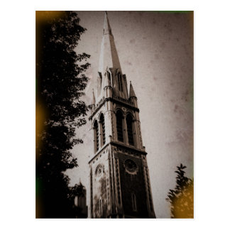 Postal de la aguja de la iglesia de Londres