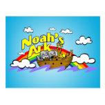 Postal de la arca de Noah