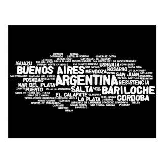 Postal de la ARGENTINA