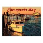 Postal de la bahía de Chesapeake