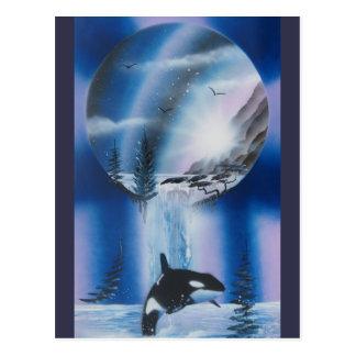 Postal de la ballena