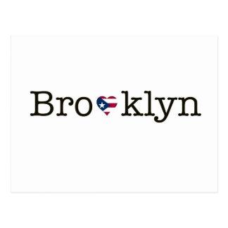 Postal de la banda de Brooklyn