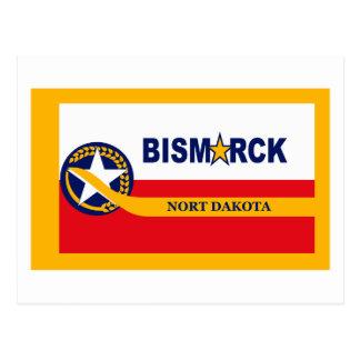 Postal de la bandera de Bismarck