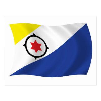 Postal de la bandera de Bonaire