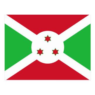 Postal de la bandera de Burundi