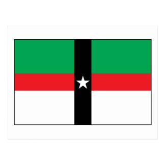 Postal de la bandera de Denison