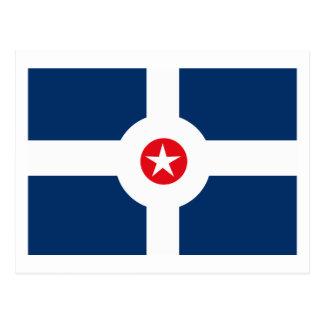 Postal de la bandera de Indianapolis