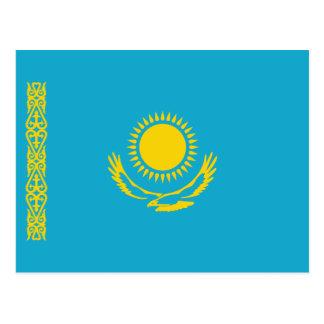 Postal de la bandera de Kazajistán