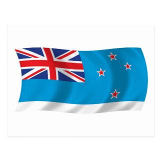Postal de la bandera de la dependencia de Ross