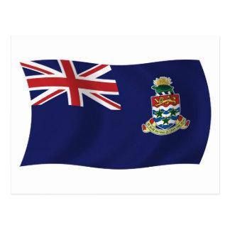 Postal de la bandera de las Islas Caimán