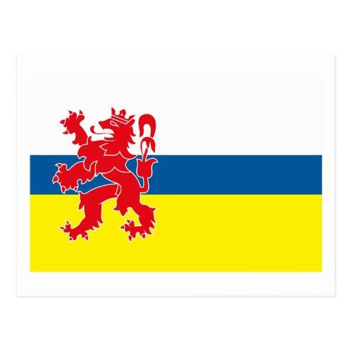 Postal de la bandera de Limburgo