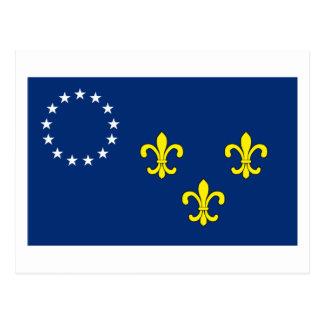 Postal de la bandera de Louisville