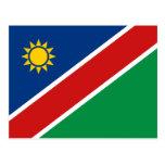 Postal de la bandera de Namibia