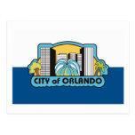 Postal de la bandera de Orlando