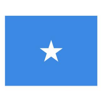 Postal de la bandera de Somalia
