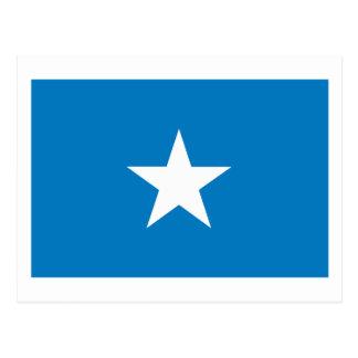 Postal de la bandera de Somolia