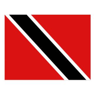 Postal de la bandera de Trinidad and Tobago
