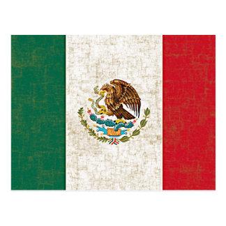 Postal de la BANDERA MEXICANA