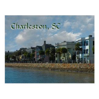 Postal de la batería de Charleston