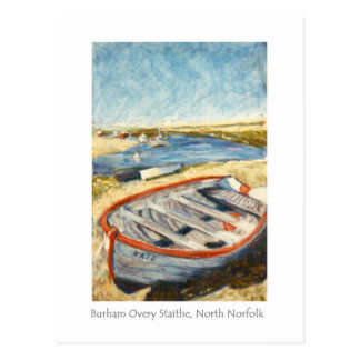 Postal de la bella arte - Burnham Overy Staithe,