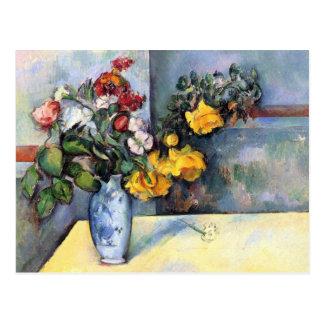 Postal de la bella arte de Cezanne