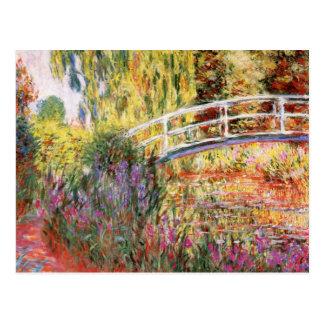 Postal de la bella arte de Claude Monet