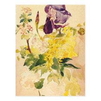 Postal de la bella arte de Manet