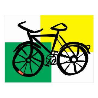 Postal de la bici