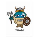 Postal de la bola de Viking