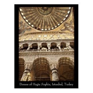 Postal de la bóveda de Hagia Sophia