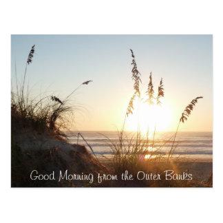 Postal de la buena mañana - Outer Banks, NC