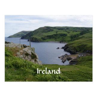 Postal de la cabeza de los torres de Irlanda