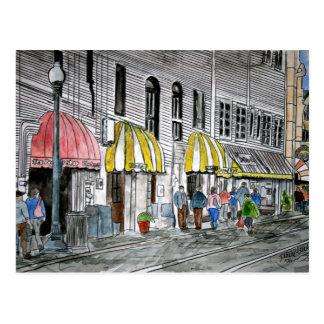postal de la calle 2 del río Savannah