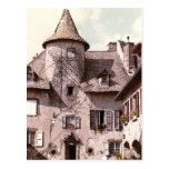 Postal de la casa de Auvergne