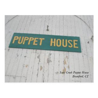 Postal de la casa de la marioneta de Stony Creek