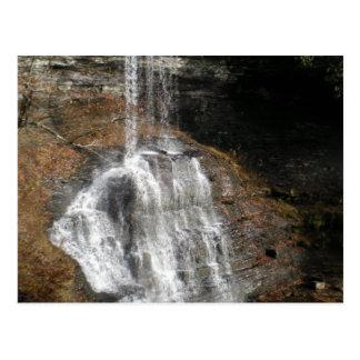 Postal de la cascada