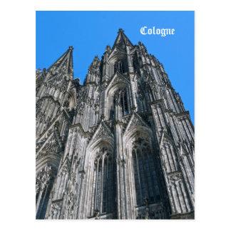 Postal de la catedral de Colonia