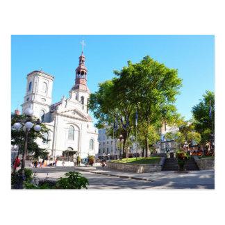 Postal de la catedral de la basílica de Notre Dame