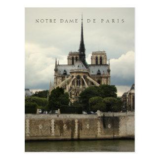 Postal de la catedral del Notre Dame de Paris