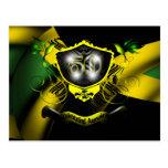 Postal de la celebración de Jamaica 50