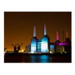 Postal de la central eléctrica de Battersea