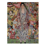Postal de la cerveza de Gustavo Klimt Fredericke M
