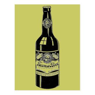 Postal de la cerveza de Tacoma
