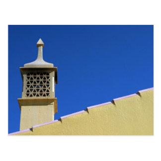 Postal de la chimenea de Algarve