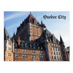 Postal de la ciudad de Québec