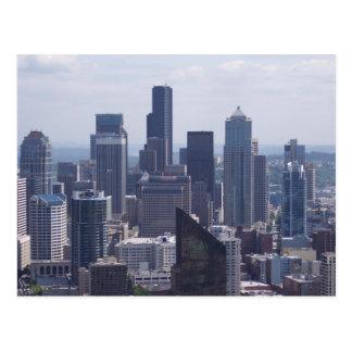 Postal de la ciudad de Seattle