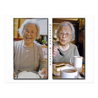 Postal de la cocina de la abuela